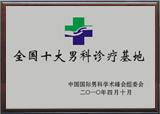 呼市友谊男科医院荣誉9